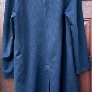 Vintage Jackets & Coats - Vintage Jonathan Logan Weitz Blue Trench Coat 38L